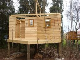 Plan Construction Cabane En Bois Sur Pilotis