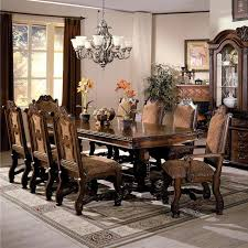 Dining Room Table Sets Leather Chairs Collection New Ideas