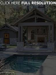 pool house kitchen. Backyard Designs With Pool And Outdoor Kitchen Charming House Plans Ideas Best Idea O