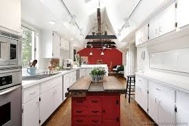 antique red kitchen cabinets new kitchen of the day an eclectic red white kitchen with