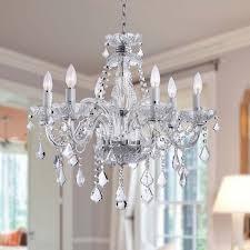 chandelier chandeliers crystal 6 light chandeliers crystal font crystals font arms chandelier font lighting ceiling