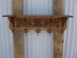 Wall Coat And Hat Rack French Antique Carved Wall Shelf Coat Rack Hat Rack Coat rack 32