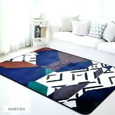 soft rugs for bedroom colorful spliced ts parlor flannel living room area rug modern plush fuzzy