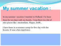 essay on how i spent my summer vacation for kids on experience of  essay on my summer holidays how i spent my summer holiday essay in hindi no middlemen