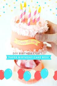 gift ideas for your boyfriend paper birthday cake box diy birthday gifts diy birthday gifts for