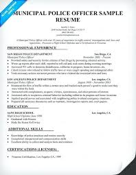 Law Enforcement Resume Templates Awesome Federal Law Enforcement Resume Objective Professional Police