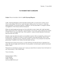 General Recommendation Letter For Student Akba Greenw Co With Resume