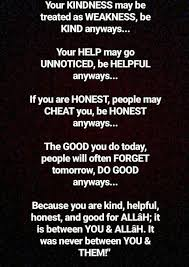 Do Good Quotes Fascinating These R My Rulesnd I Hope In Shaa Allah It Will Continue Till My