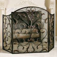 metal fireplaces ashville beautiful fireplace screens