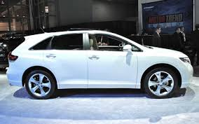 Toyota Venza Side View - Car Models 2017 – 2018