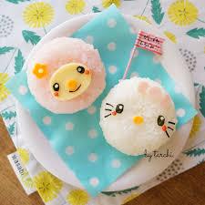 Hello Kitty & My Melody rice balls by tarchi. (@tar_chi)