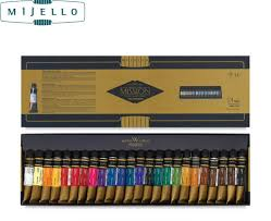 Hotsale Mijello gold <b>24 colors watercolor</b> master high concentration ...