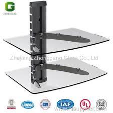 2 tier glass shelf glass shelf tv wall