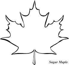 Template Oak Leaf Outline Template Leaves Printable Leaf Outline