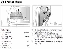 tail light assembly diagram bimmerfest bmw forums 1994 bmw 325i engine wiring diagram click image for larger version name 1998_bulbs gif views 22621 size 34 2