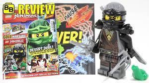 LEGO NINJAGO MAGAZINE ISSUE 27 COLE MINFIGURE REVIEW! - YouTube