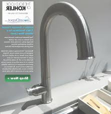 Kohler Barossa Kitchen Faucet Kohler Faucets Touchless Awesome Touchless Kitchen Faucet With