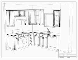 simple kitchen drawing. Simple Kitchen Cabinet Plans Good Drawing Simpleu Inspiration Decorating G