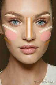 maquillaje makeup how to highlight and contour like a model really great step by step guide