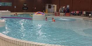 pool splash. Alyson Zell, Freedom Leisure Aquatics Manager Pool Splash