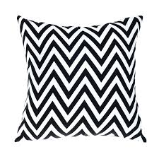 black and white cushions outdoor chair cushions black white modern sofa cushion printed striped decorative throw black and white cushions