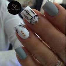 Lovely Nails Art Design Ideas <b>Suitable Cold</b> Weather 20 | Nails ...