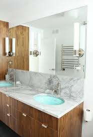 Kohler Bathroom Mirror Bathroom Update Kohler Purist Sconces Mounted On A Sheet Mirror