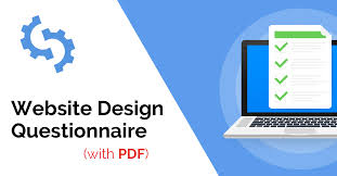 Sample Proposal For Website Design And Development Pdf The Ultimate Website Design Questionnaire With Pdf Template