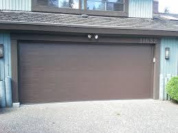 flush panel garage doorThis Clopay Classic Premium Garage Door in a Flush Panel