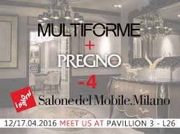 4! multiforme #lighting and pregno #furniture wait for you at