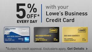 Lowes Commercial Credit Card Application Lowes For Pros