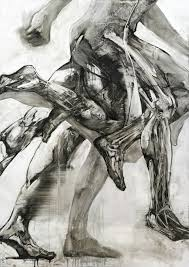 Run, an art print by Tomasz Szkodzinski   Futurism art, Life drawing, Art