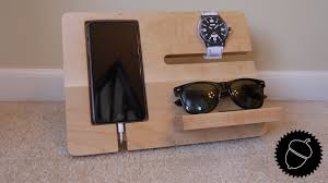 Make Charging Station How To Make A Night Stand Charging Station Youtube