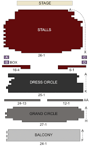 Novello Theatre Seating Chart Novello Theatre London Seating Chart Stage London