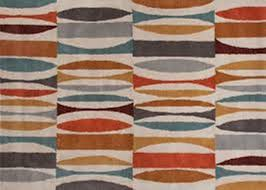 mid century modern rug abstract lines blue choosing with regard to design 5