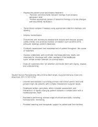Nurse Resume Examples Registered Nurse Resume Sample Rn Resume
