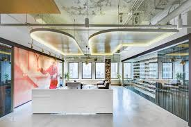 New York Office Interior Design 5 Bold Fashion And Beauty Offices