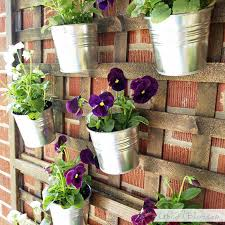 garden wall plant holders 24 ways to hang plants on the wall andreas notebook outdoor wall