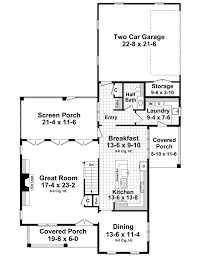house plan 59224 at for rear entry garage house plans