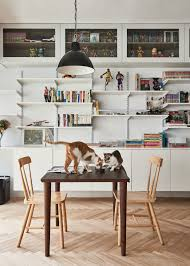 Living Room Furniture For By Owner Cat Owners Cramped Apartment Gets Room To Breathe