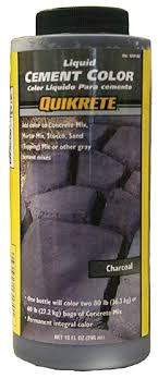 Quikrete Stucco And Mortar Color Chart Quikrete 1317 00 Liquid Cement Color 10oz Charcoal