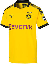 Amazon.com : PUMA Borussia Dortmund Home Kids Jersey 2019 ...