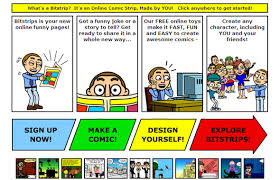 give the bitstrips for s a miss as it is not free stop bullying speak up is a free web ic book that aims to educate and put a stop to