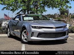 Used Chevrolet Camaro For Sale In Escondido Ca Cargurus