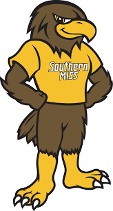 golden eagles mascot. Perfect Mascot Southern Miss Golden Eagles Mascot Logo 2003   Mascot Seymour Du0027Campus With C