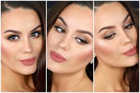 romantic makeup soft brown smokey eyes dewy skin makeupbygio you