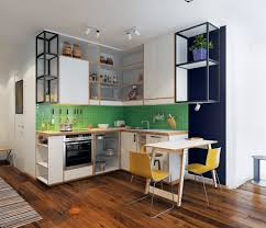 Cute Green Kitchen