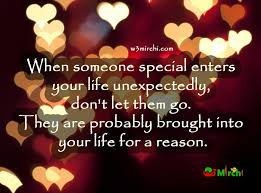 Someone Special Enters Your Life Magnificent Special Love Quotes