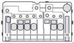 Mercedes Benz Sprinter W906 2006 2017 Fuse Box