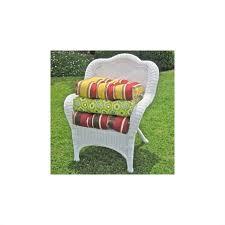 blazing needles outdoor standard wicker rocker cushion
